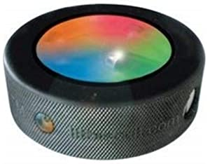 fe217e5a780 Amazon.com   Lit Biscuit Green Colored Hockey Puck   Sports   Outdoors