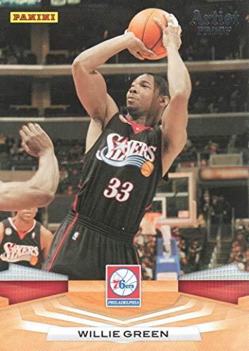 [해외]2009-10 Panini Basketball Artist Proof 40 Willie Green 160199 76ers / 2009-10 Panini Basketball Artist Proof 40 Willie Green 160199 76ers