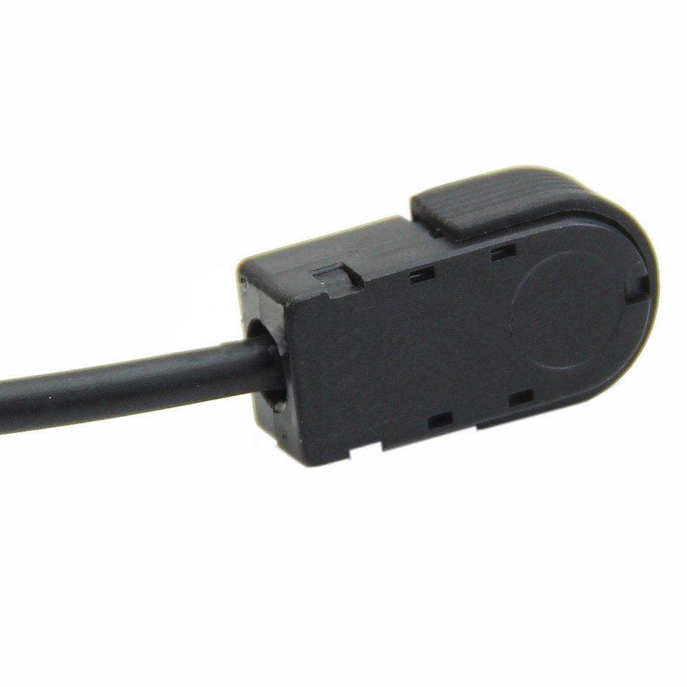 SODIAL Auto 3,5 mm Stereo Mini Jack Per ALPINE//JVC Ai-NET 4FT 100cm aux Auto Audio Cavo In forma per Adattatore per telefono