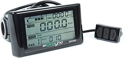 ebikeling 36//48V SW900 LCD Display for Electric Bicycle ebike