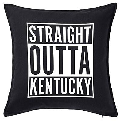 Tenacitee Straight Outta Kentucky Pillow Cover