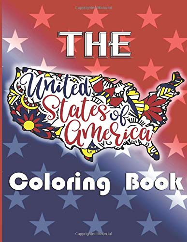 Amazon Com The United States Of America Coloring Book 51 Coloring Pages 9798657578157 Ganly Sarah Books