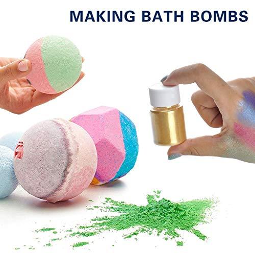iuchoice ❤️❤️ Slime Powder DIY Mica Powder Natural Powder Pigments for Adhesive Pigments Bath
