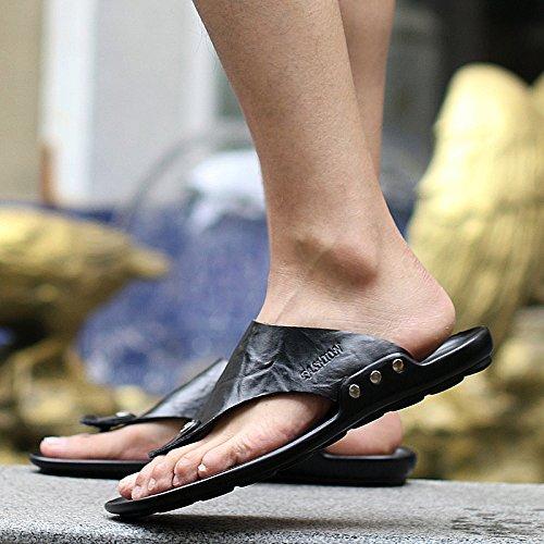 @Sandals Europäische und Amerikanische Pantoffeln, Männer - Sommer, Sommer, Sommer, Personalisierte Flip - Flops, Anti-Skid Beach, Kalte Füße. 58dbe7