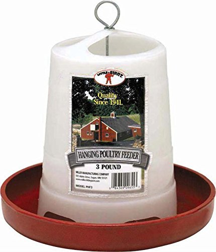 Little Giant Hanging Poultry Feeder 3lb Little Giant Rod