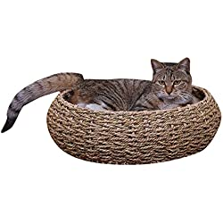 PetPals Seagrass Pet Bed, One Size