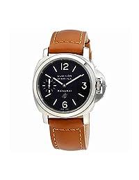 Panerai Men's Swiss Automatic Copper and Ceramic Casual Watch, Color:Black (Model: PAM01005)