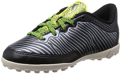 X 15.3 CG Indoor Kids Football Trainers schwarz