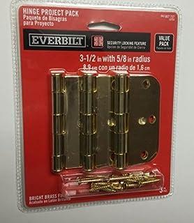 Amazon com: Everbilt 1-1/2 in  x 30 in  Bright Nickel Continuous