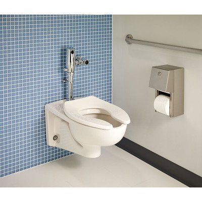 American Standard 2257.101.020 Afwall Elongated Bowl Wall-Mounted Toilet - 101 Wall