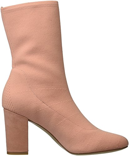 ... Kenneth Cole New York Womens Alyssa Strekningen Strikke Floral Heeled  Bootie Mote Boot Rødme