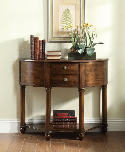 Coaster Home Furnishings Transitional Console Table, Cherry Review