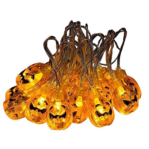 battery powered pumpkin lights