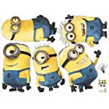 5 Minions Despicable Me 2 Removable Wall Stickers Decal Kids Room Home Decor | Add to watch list