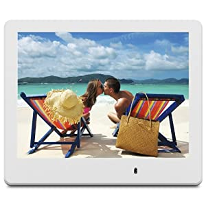 viewsonic vfd820 70 8 inch digital photo frame white