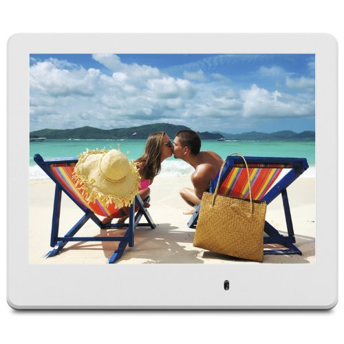 ViewSonic VFD820-70 8-Inch Digital Photo Frame (White) by ViewSonic