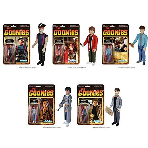 The Goonies Reaction Figure Set Of 5 (Sloth, Chunk, Data, Mikey & Mouth) by FunKo