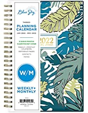 Blue Sky 2022 Weekly & Monthly Planner