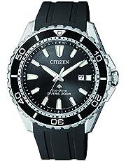 Citizen Eco-Drive Promaster Steel Rubber Divers 200m Watch BN0190-15E