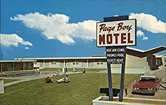 page boy motel page arizona original vintage. Black Bedroom Furniture Sets. Home Design Ideas