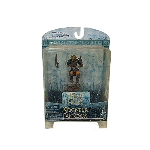 Play Along Battle Scale Figure #48150 The Lord of the Rings Seigneur Anneaux Moria Orc Runner Replica