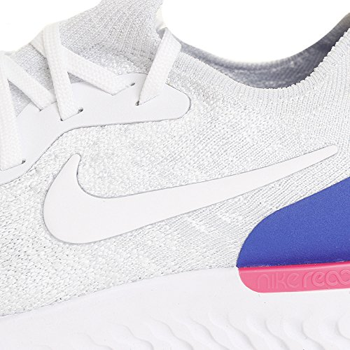 Blast Homme Blue Chaussures Epic Flyknit Multicolore NIKE de 101 Running React White Racer Compétition Pink qZO0T