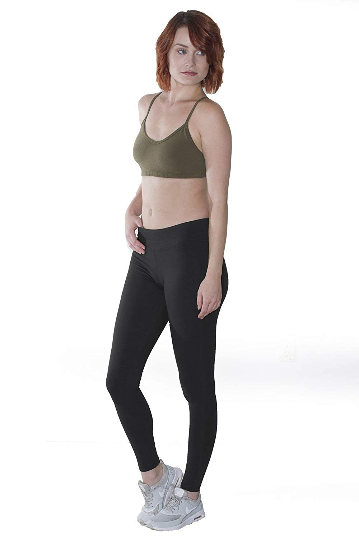 46b2df82b28 Amazon.com  In Touch Organic Cotton Fair Trade Leggings  Clothing