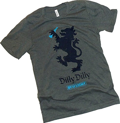 Anheuser-Busch, Dilly Dilly, Bud Light, Symbol Adult T-Shirt, Small