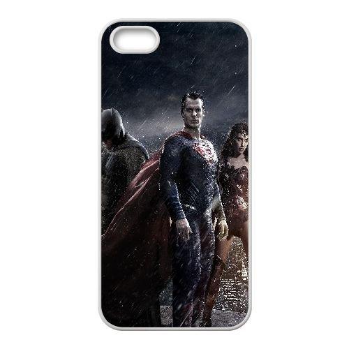 I4C57 une affiche batman superman coque iPhone film d'art de X5L1WR foncé 5 5s cellulaire cas de téléphone couvercle coque blanche DJ7LBV7ID