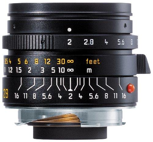 Leica 28mm f/2.0 Aspherical M Manual Focus Lens (11604) (Hood Leica)
