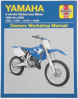Haynes Manuals N/Amanual Yam Yz 2/Str 86 06 M2662 New