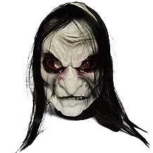 Drasawee Scary Halloween Costume Decoration Face Mask Evil Spirit