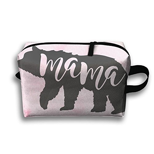 Louis Woodrow Mama Bear Storage Bag,Cosmetic Bags,Sewing Kit,Emergency Preparedness Kit,Outdoor Travel First Aid Kit Pack Organizer Bag,Travel Makeup by Louis Woodrow