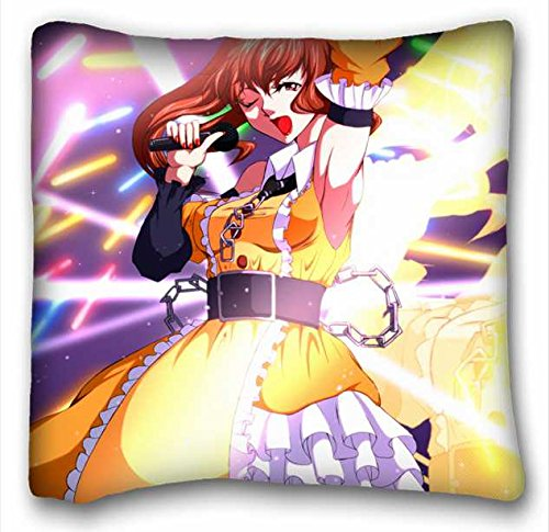 "Custom Anime Zippered Body Pillow Case Cover Size 16""X16""..."