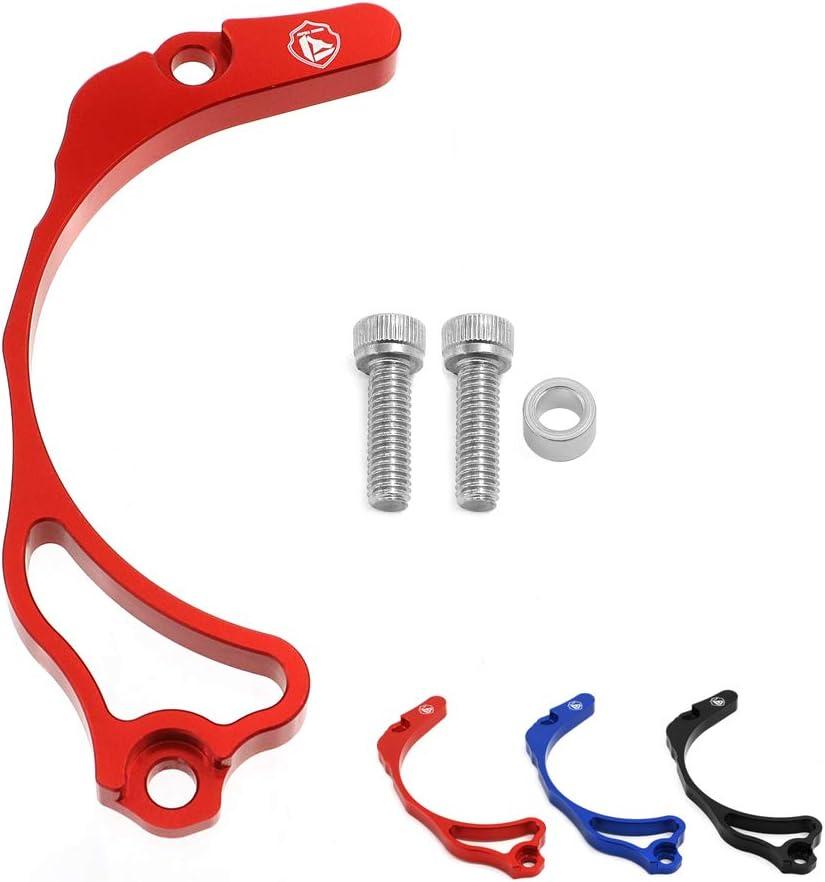 Cosmoska Case Saver Billet Aluminum Chain Saver Guard Engine Case Protection For Honda TRX 400EX TRX400EX-Red