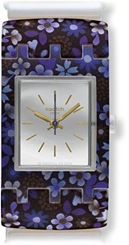 SWATCH watch SQUARE LADY VIOLET S SUBW112B Ladies