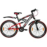 Avon ALTAIR Single Speed Cycle :24 Inch (matt black/f red)