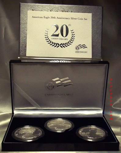 2006 20th Anniversary Silver Eagle Set Original Mint Packaging ()