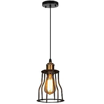 Lustre Led Eclairage Style Industrielle Vintage Lampes De Plafond