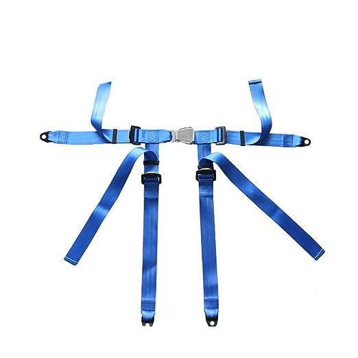 YOGANHJAT Cinturón De Seguridad Coche 4 Puntos Kit Universal ...