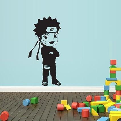 Amazon.com: Wall Decal Mural Sticker Anime Manga Naruto Boy ...