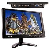 CCTV Monitor, ZOTER 10 Inch Screen Monitor 1280x800 BNC VGA HDMI AV Video Input for Security System Camera