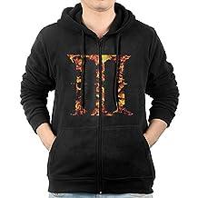 Men Hoodie Dark Souls III Zip Sweatshirt