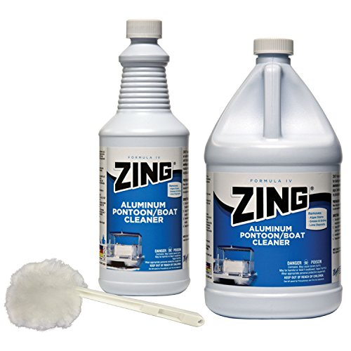 Boat Cleaner Zing (ZING 10011 Professional Aluminum Pontoon & Boat Cleaner - 1 Quart)