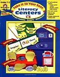 Literacy Centers, Grades 1-3, Evan-Moor, 1557997985