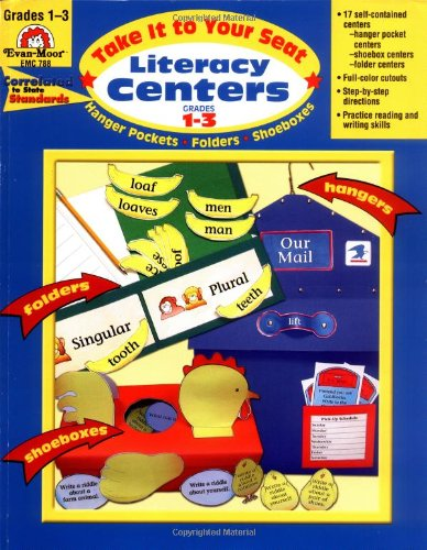 Literacy Centers, Grades 1-3 (Seat Phonics Centers)