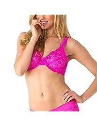 Smart & Sexy Women's Signature Lace Unlined Underwire Bra