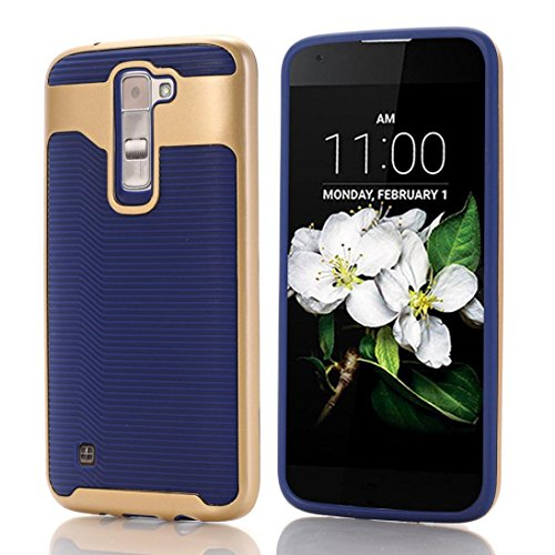 lg-k7-caseautumnfall-hard-bumper-hybrid-soft-rubber-skin-case-cover-for-lg-k7-navy
