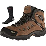 Hi-Tec Men's Bandera Mid Water Proof Hiking Boot with DTV Pair of Socks that have a Lifetime Warranty