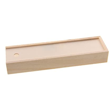 hot sale online b94e7 13947 Amazon.com: Flameer Creative Toys Unfinished Wood Gift Jewelry Box ...